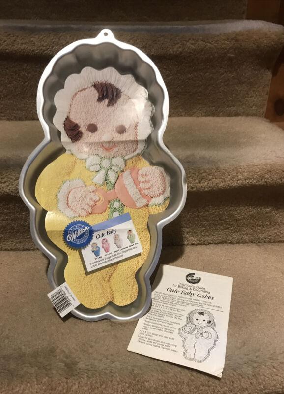 Wilton - Vintage 1994  Cute Baby Cake Pan