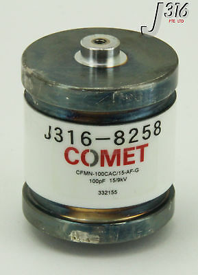 8258 Comet Variable Vacuum Capacitor Cfmn-100cac15-af-g