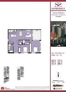 Brand New 2 Bedroom Spacious Study Apartment for rent carlingford
