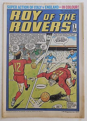 ROY OF THE ROVERS Comic - 15th January 1977