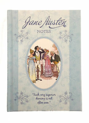 A6 Jane Austen Notebook Lined Dancing Notes Vintage Literature Journal Pad 2Pack