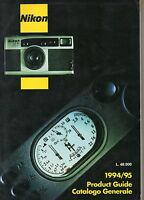 Nikon - Product Guide - Catalogo Generale 1994-95 - nikon - ebay.it