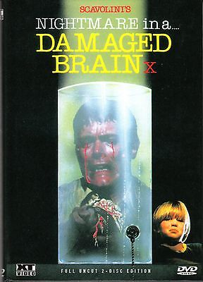Nightmare in a damaged Brain , 2 Disc - small hardbox edition , 100% uncut (Halloween 2 1981 Uncut Dvd)