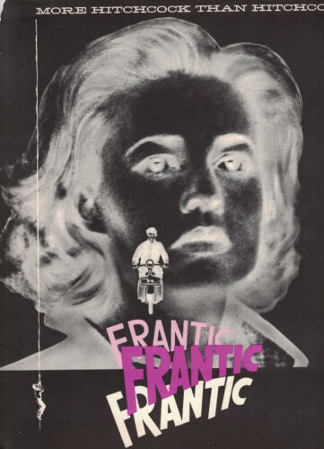 "Jean Moreau ""Frantic"" (Elevator to the Gallows) Press Kit Ad Slicks Louis Malle"