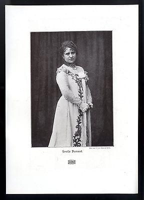 Louise Dumont Die deutsche Schauspielerin und Theaterleiterin Kunstdruck v. 1906