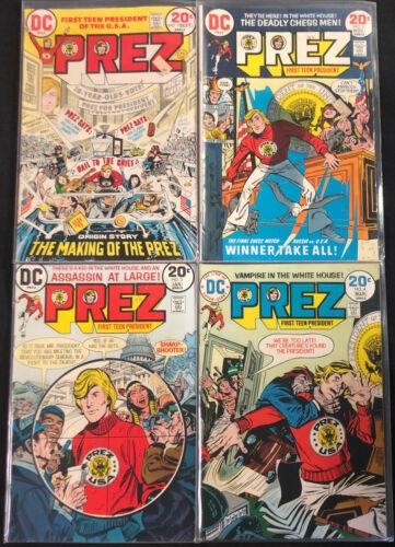 DC PREZ COMIC RUN OF #1-4 (VF-NM)