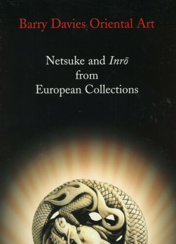 Japanese Netsuke and Inro - Types Makers Marks / Rare Illustrated Book