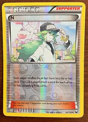 N 96/108 Reverse Holo Uncommon B&W Dark Explorers Pokemon Card