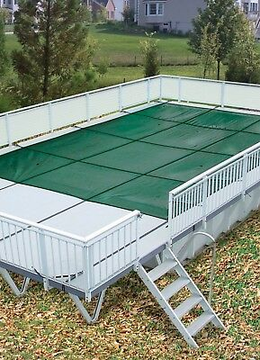 HPI Above Ground Mesh On-Ground Safety Cover For Use With Kayak Pools®