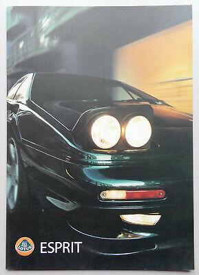 V15621 LOTUS ESPRIT GT V8 & V8 SE - DEPLIANT - NON DATE - A4 - GB D IT FR