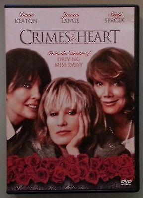 diane keaton  CRIMES OF THE HEART jessica lange / sissy spacek  DVD