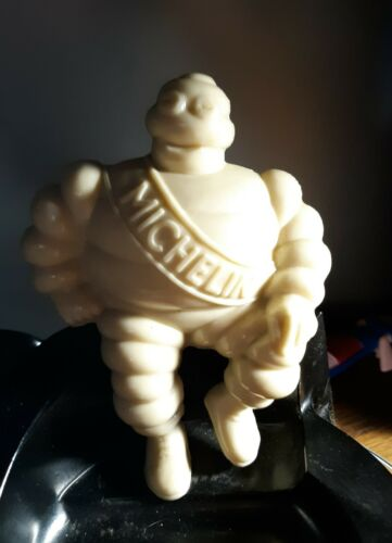 Vintage Michelin Man Advertising Figure Ashtray Key Dish Minty Unused 1940's