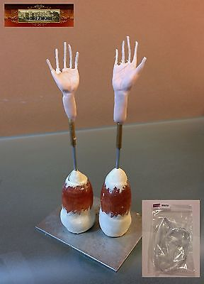M00761 MOREZMORE HPA Parts Finger Wire 32 GA Cotton Hand Doll Sculpting T20