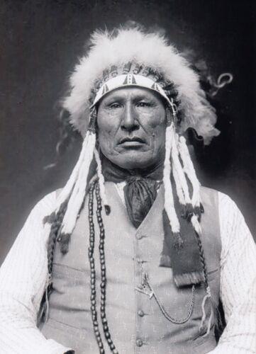 Wooden Leg PHOTO Cheyenne Warrior Indian, Battle of the Little Bighorn Survivor
