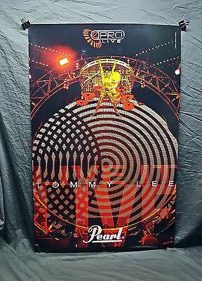 Motley Crue *Tommy Lee* Pearl Drums Poster