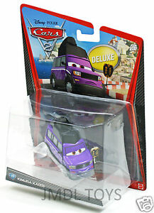 Disney-Pixar-Cars-2-DELUXE-KIMURA-KAIZO-11-NEW-IN-HAND