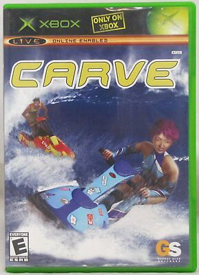 Carve Microsoft Xbox 2004 European Version Video Game Watercraft Jet Ski Racing