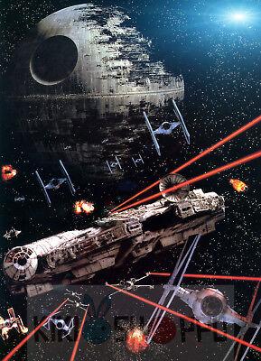 Poster A3 Star Wars Halcon Milenario / Millenium Falcon Pelicula Film Cartel 01 segunda mano  Embacar hacia Argentina