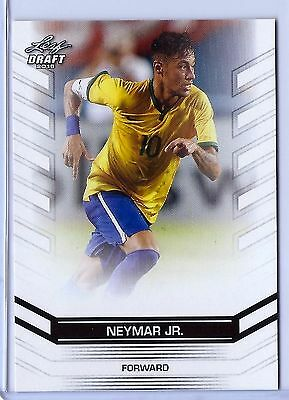 NEYMAR JR 2016 LEAF DRAFT (EXCLUSIVE EDITION) CARD #19 W/H TOP LOADER! (Neymar Jr Height)
