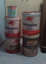 Old oil and petrol tins Chigwell Glenorchy Area Preview