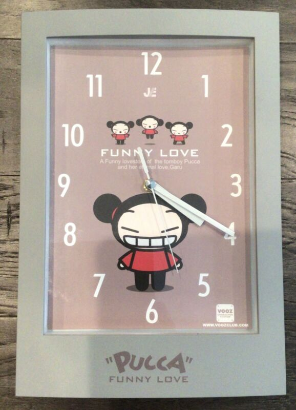 Pucca Analog Clock - Needs 1 AA Battery