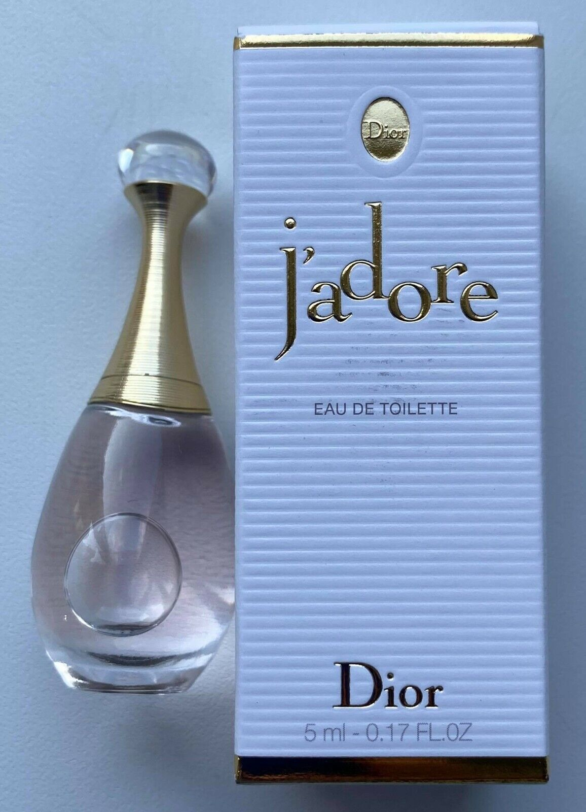 DIOR JADORE EAU DE TOILETTE 5 ml 0.17 FL OZ MINIATURE VIP GIFT