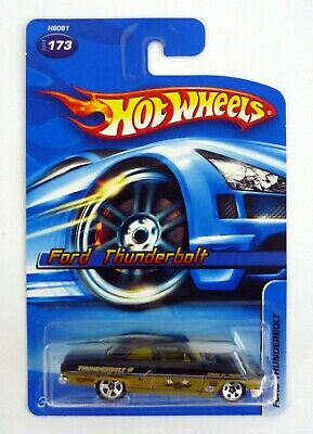 HOT WHEELS FORD THUNDERBOLT #173 Die-Cast Car 5-Spoke Variant MOC COMPLETE 2005
