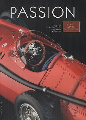 Cmc Exclusive modelos-passion-Mercedes-horch Maserati-Ferrari-auto unión-Catálogo