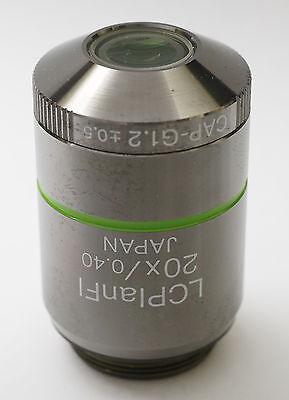 Olympus Lcplanfl 20x 0.40 Cap G1.2 - 0.5 Microscope Objective Plan Rms Bx Ix