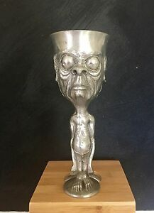Solid pewter wine goblet - Gollum - Lord of the Rings Buderim Maroochydore Area Preview