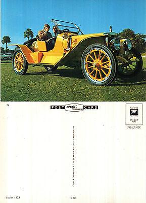 1933 LOZIER MOTOR CAR UNUSED COLOUR POSTCARD BY DENNIS D 208