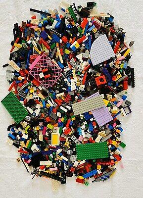 Bulk Lego Bricks & Pieces 2Kg- All Genuine Lego - WASHED