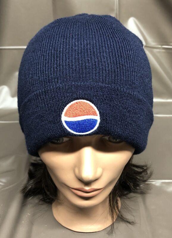 Blue Pepsi Beanie Winter Hat Otto Cap