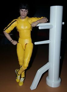 Bruce Lee WOODEN DUMMY Uomo di Legno bandai S.H. Figuarts scale figure 1:12 - Italia - Bruce Lee WOODEN DUMMY Uomo di Legno bandai S.H. Figuarts scale figure 1:12 - Italia