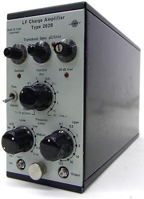 Bruel Kjaer 2628 Low Frequency Charge Amplifier Accelerometer Preamplifier