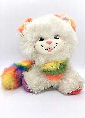 Vintage Rainbow Brite Kitty Brite Mattel 1983 Hallmark Plush Toy Cat Rare 80's
