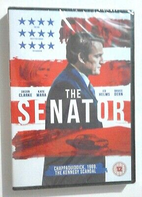 The Senator DVD NEW and SEALED 2018 drama Starring Jason Clarke as Ted Kennedy