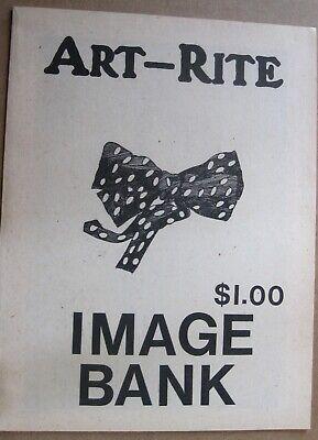 Art-Rite #18 Image Bank, works by Ray Johnson, General Idea, Genesis P-Orridge,