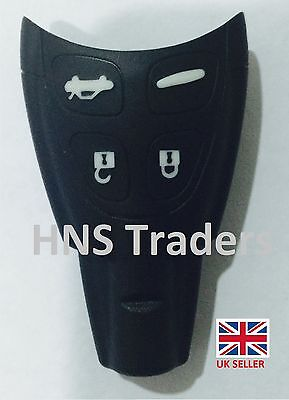 For SAAB 4 Button Replacement Remote Smart KEY FOB SHELL For 93 95 9-3 9-5 A03