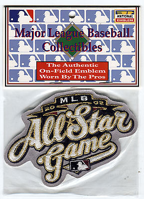 2002 ALL STAR GAME MILWAUKEE BREWERS OFFICIAL MLB BASEBALL AWAY JERSEY PATCH Game Official Mlb Baseball Jersey