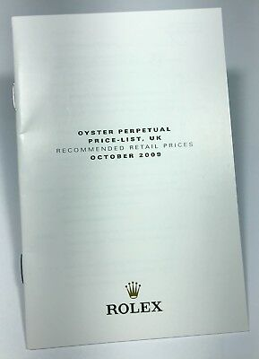 ROLEX Price List UK 2009 Milgauss Explorer Submariner GMT Daytona Deepsea Yacht
