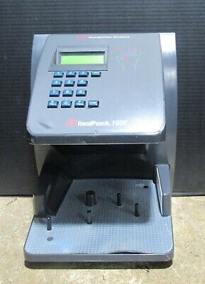 Ir Recognition Systems Hand Punch 1000 Hp-100 Biometric Hand Reader Testedworks
