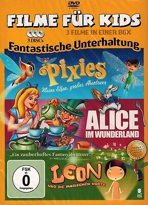 DVD-BOX NEU/OVP - Filme für Kids - Fantastische Unterhaltung - 3 Filme