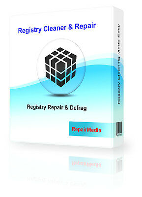 Registry Cleaner and Defrag Software Fix Slow PC Repair Errors System Tune-up