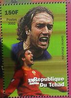 Gabriel Batistuta Argentina, Roma, Fiorentina Inter Soccer Chad Football Mnh - inter - ebay.it