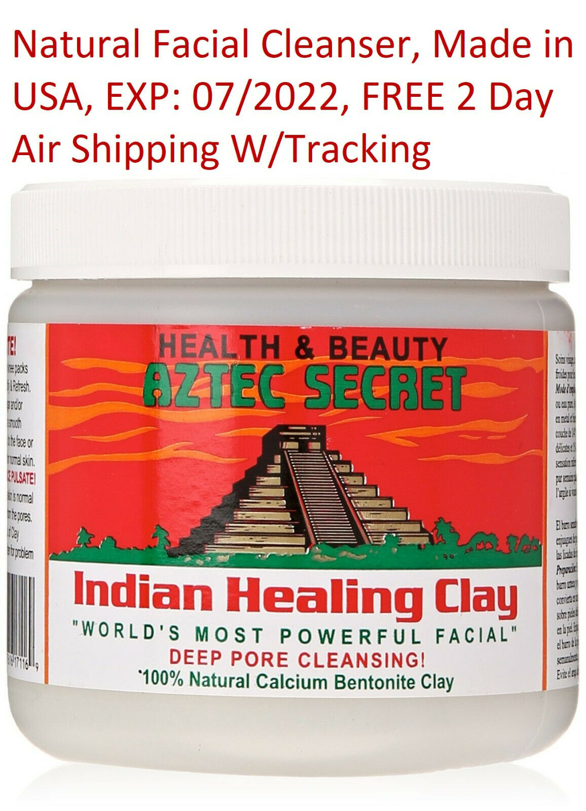 Aztek Secret - Indian Healing Clay Deep Pore Cleansing Facia