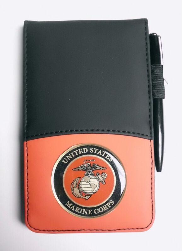 USMC MARINE CORPS Jotter. Notebook and Calculator Combo PEN INCLUDED Semper Fi