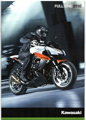 Kawasaki Motorcycles 2010 UK Market Sales Brochure