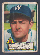 1952 Topps James Runnels