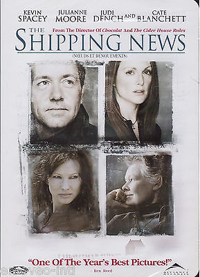 The Shipping News  Julianne Moore  Kevin Spacey   New Dvd